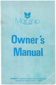 Mainship Owners Manual